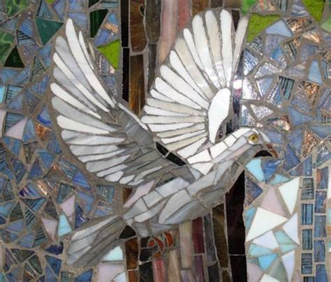 beautiful mosaic dove httplometscom