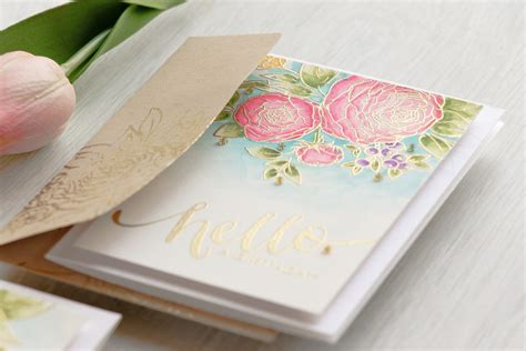 watercolor ranunculus tutorial wplus9 floral cards trio easy watercolor ranunculus