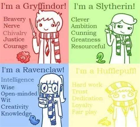 25+ best ideas about hogwarts house traits on pinterest