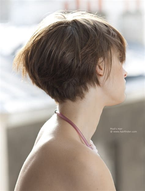 hairstyles to the side for medium hair short hairstyles side view pictures 72 with short
