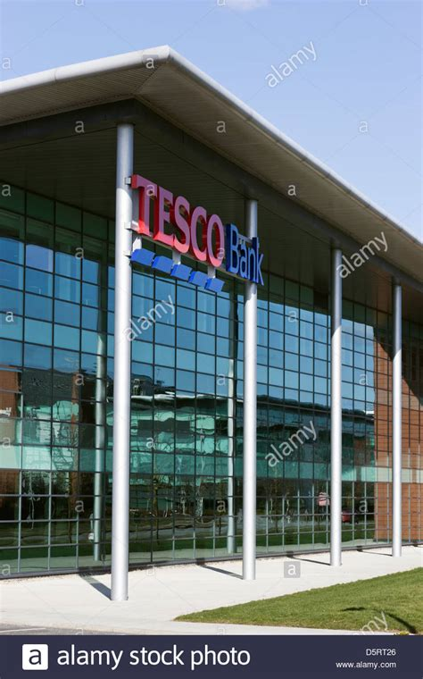 Reset Tesco Online Banking | tesco bank at quorum business park stock photo royalty