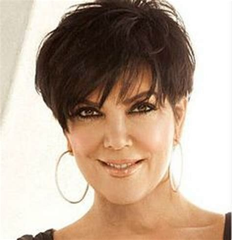 pic of back of kris jenner hair cut kris kardashian haircut
