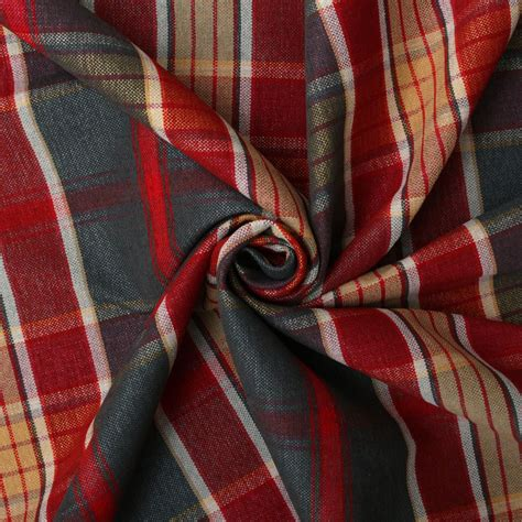 discount designer curtain fabric uk curtain designer discount linen look tartan check plaid
