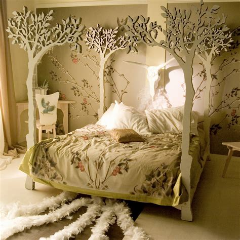 Canopy Bed Bedding Interior Design Home Decor Furniture Furnishings