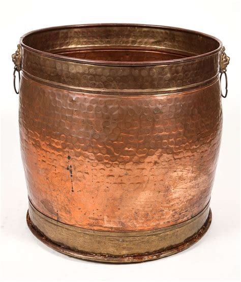 Hammered Copper Planter by Hammered Copper Pot For Sale At 1stdibs