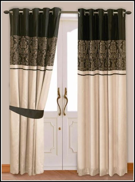 red green  gold striped curtains curtains home