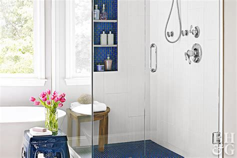 walk in showers for small bathrooms better homes gardens