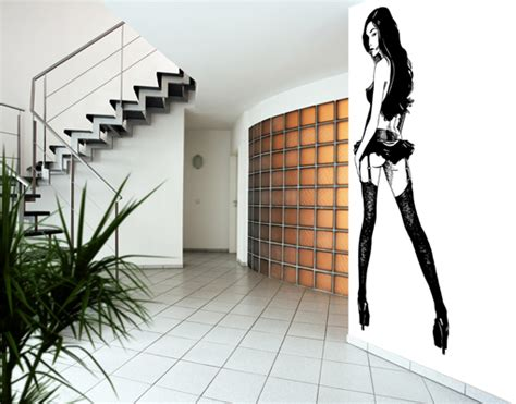 pin up home decor photo wall mural asian pin up girl wallpaper wall art wall