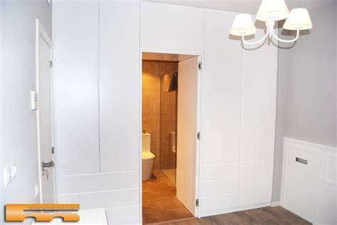 armario  medida lacado separador bano dormitorio principal clara barcelona