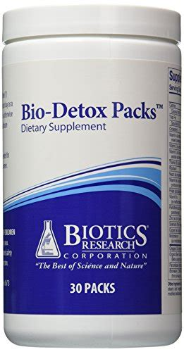 Detox Pack Uses by Biotics Research Bio Detox Packs 30 Packets S Conley