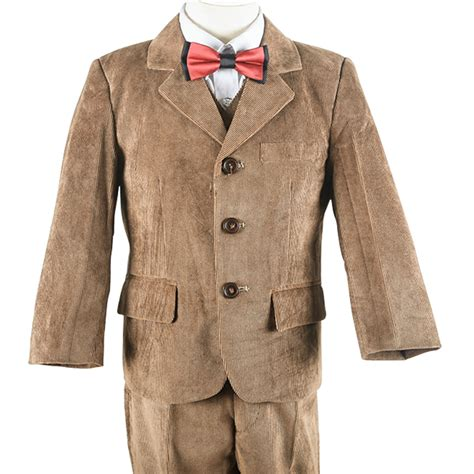 brown style tree nimble boy s formal suit new brown corduroy style