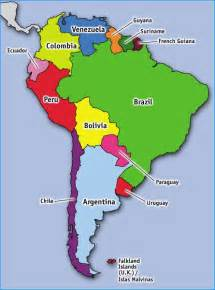 best 20 south america map ideas on