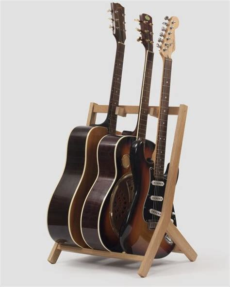 woodworking guitar stand wooden multi guitar stand oak guitar stands