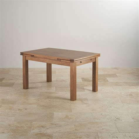Rustic Solid Oak Dining Table Rustic Oak 4ft 7 Quot Dining Table With 6 Chairs