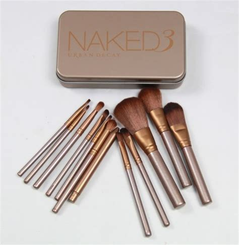 Make Up Kit Naked3 8216 01 decay 3 brush set price review and buy in