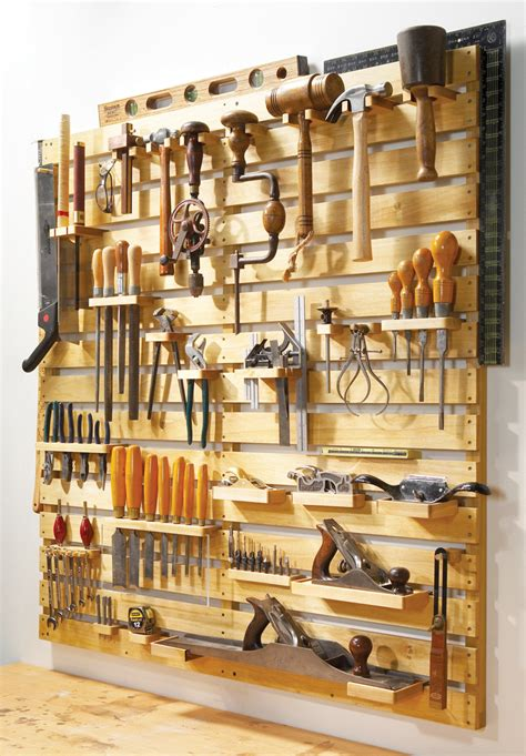Shop Storage Plans by Hold Everything Tool Rack Popular Woodworking Magazine