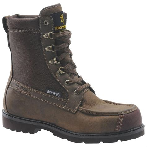 browning boots for s browning 174 br20105 8 quot featherweight moc toe boots