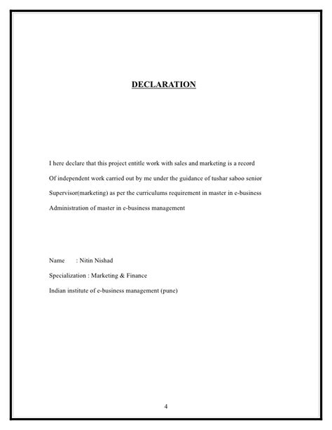 Rent Declaration Letter Brokerage Structure In Reference Of Other Broking House At Reliance M