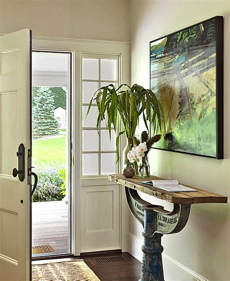 Unique Entryway Tables Back To A Grand Entrance Makeover Entryway Decor Ideas For Your Home