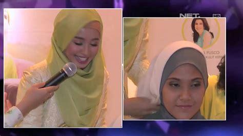 bella yahya hijab tutorial laudya cynthia bella berbagi tutorial model hijab
