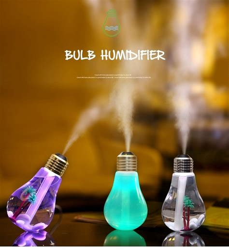 Baymax Mini Led Rgb Humidifier Usb 400ml bulb mini rgb led humidifier usb 400ml golden jakartanotebook