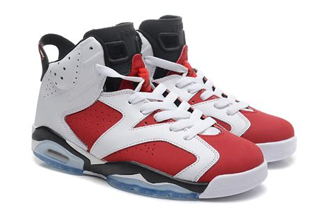 imagenes jordan retro 6 air jordan 6 vi retro carmine white carmine black for