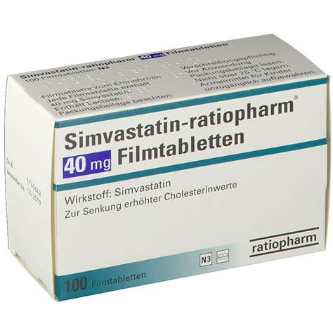 Obat Simvastatin 40 Mg simvastatin ratiopharm 40 mg filmtabl shop apotheke