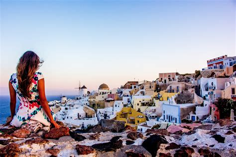 Eat On Kitchen Island by The Best Sunrise In The World Santorini Greece