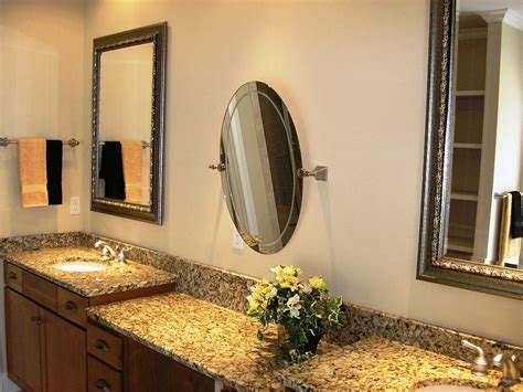 Best Brushed Nickel Bathroom Mirror The Homy Design Brushed Nickel Mirror For Bathroom