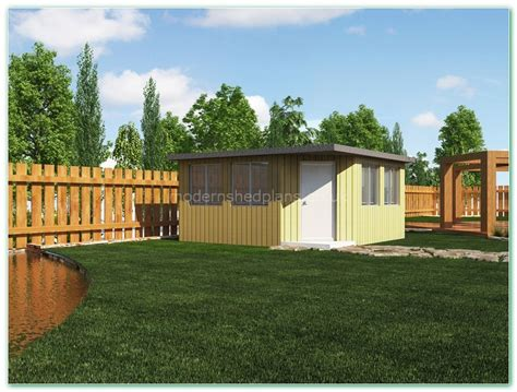 Modern Shed Company by Modern Home Office Pod Plans Modern Shed Plans