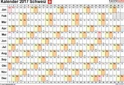 Liechtenstein Kalender 2018 Kalender 2017 Schweiz In Excel Zum Ausdrucken