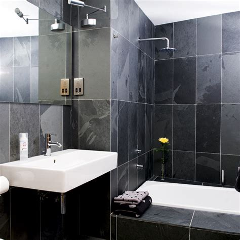 Monochrome Bathroom Ideas by Decoraci 243 N De Ba 241 Os Peque 241 Os