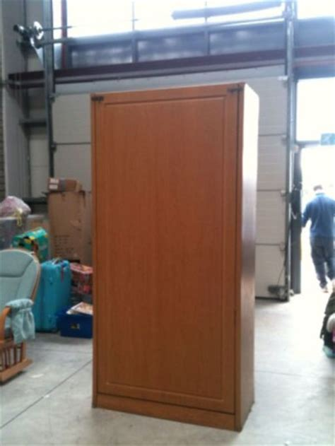Beds That Fold Up In A Cabinet by Wall Bedcloset Fold Up Single Bed In Cabinet For Sale In
