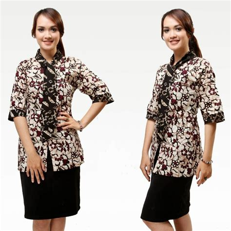 Baju Kantor Untuk Ibu contoh model baju kerja wanita yang nyaman