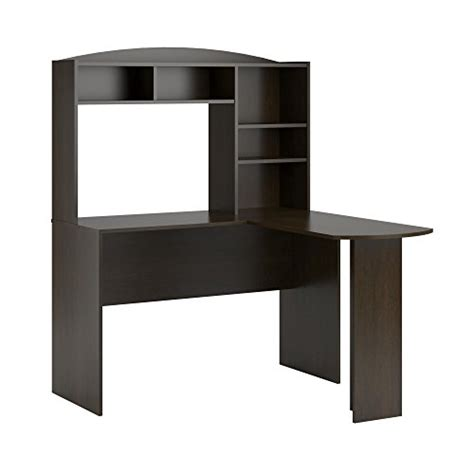 Ameriwood Home Dakota Space Saving L Desk With Hutch Dark Space Saving Corner Desk