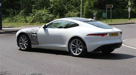Car Types Of Drive by Jaguar F Type Goes Four Wheel Drive In 2015 The Spyshots