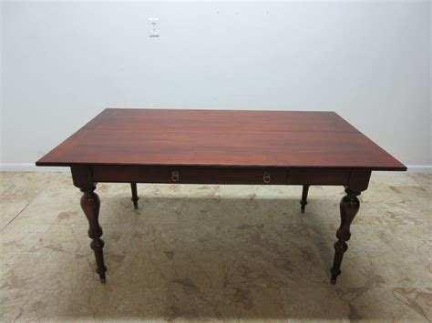 Ethan Allen Classics Dining Room Set by Ethan Allen Classics Console Table Opens Up To