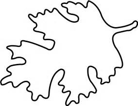 Oak Leaf Template by Oak Leaf Template Clipart Best