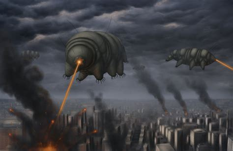 Cloverfield Invades by Attack Of The Tardigrades By Ramul On Deviantart