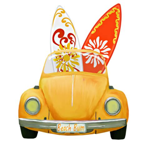 surf car clipart car and surfboards png cute clipart pinterest surf