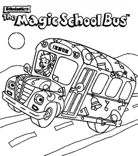the most awesome and also gorgeous magic school bus