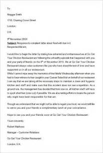 Response Letter To Employee Complaint Sle Write Up For Company Profile Readwritethink Readwritethink