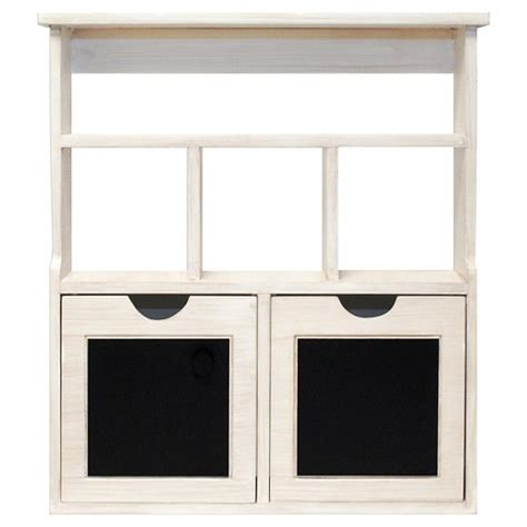 Cubby Drawers by Wood Chalkboard Cubby With Drawers White Target