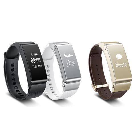 Smartwatch Huawei Talkband B2 Buy Huawei Talkband B2 Smartwatch Gold Itshop Ae