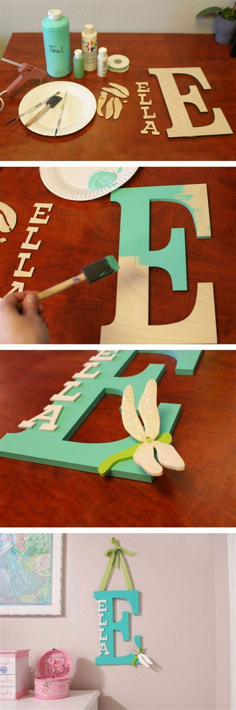 How To Decorate Letters by Diy Letter Ideas Tutorials Hative