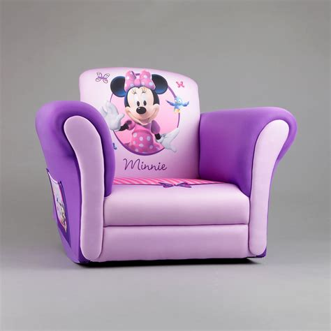 Minnie Mouse Recliner Chair by Delta Upholstered Child S Minnie Mouse Rocking Chair