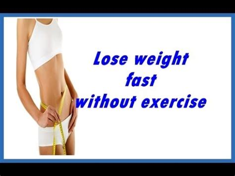 Lose Weight With Slim9 by How To Lose Weight Fast In 1 Week Without Exercise