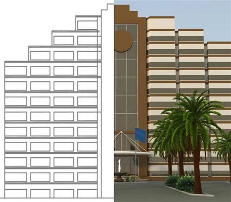 exterior design 3d from 2d conver pdf to file cad for 15 seoclerks 3d exterior rendering services in 3ds max v ray revit
