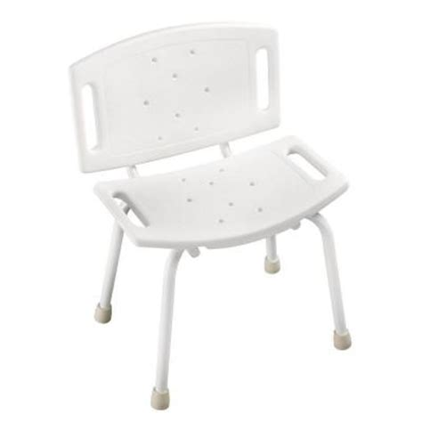 safety tub and shower chair in white sf598 the