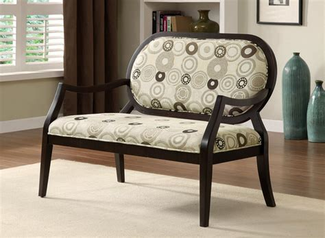 bench living room phoenix signature tan upholstered bench add extra seating